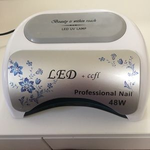 LED UV gel nail lamp